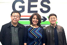Mayor and Director of Yuhong, China with Poonam Datta CCO - GES