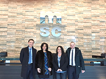 Jacob Buschardt - MSC, Poonam Datta CCO - GES, Tiffany Sessoms, and Alberto Tresin - MSC