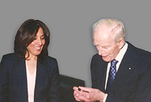 Maersk Mc- Kinney Moller, Founder of A.P. Moller - Maersk Group & Poonam Datta