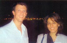 HRH Prince Joachim of Denmark and Poonam Datta