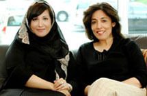 Salma Hareb, CEO Economic Zone World and Ms.Poonam Datta