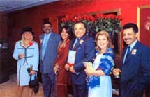 Ms. Poonam Datta, Mr. Ram Menen (Sr. VP - Emirates Cargo) and other guests